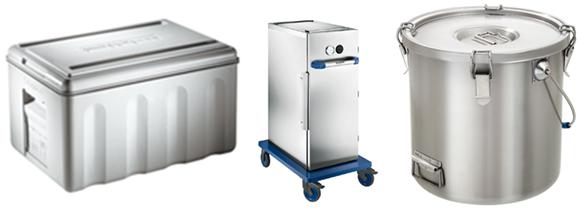 Thermoboxen für die Gastronomie