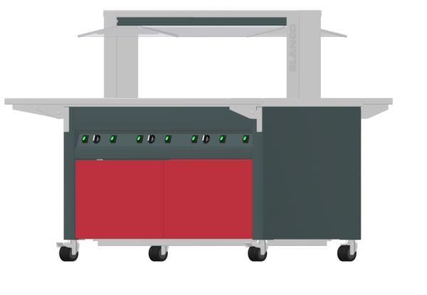 BASIC LINE KIDS Warmbuffet W3 750mm