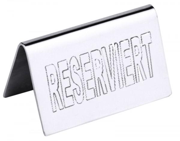 Tischschild RESERVED