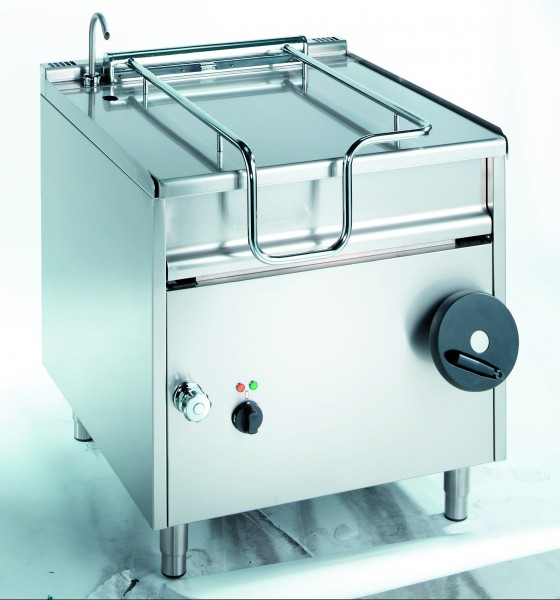 Elektro Kippbratpfanne mit Motorkippung 105 Liter