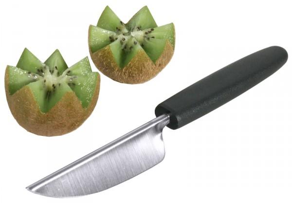 Fruchtdekorierer 20,5 cm mit schwarzem PA-Griff