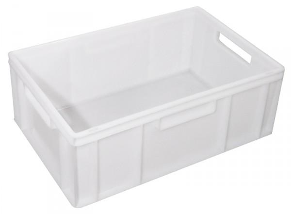 Transportkasten, weiß, 21 cm 60 x 40 cm, flach