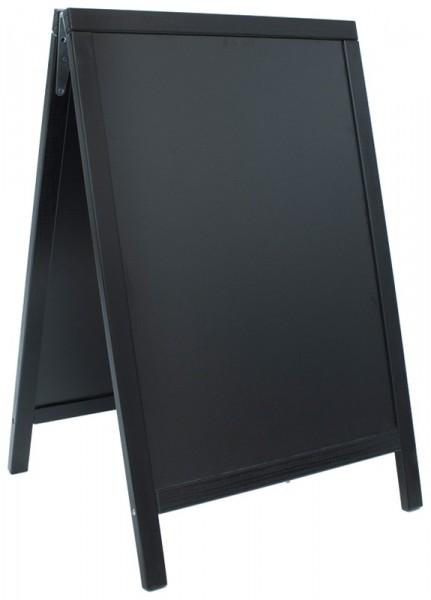 Doppeltafel 85x55cm, schwarz