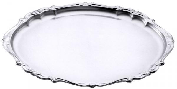 Barock-Tablett oval 31 x 24 cm