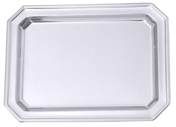 Platte achteckig 31 x 23,5 cm