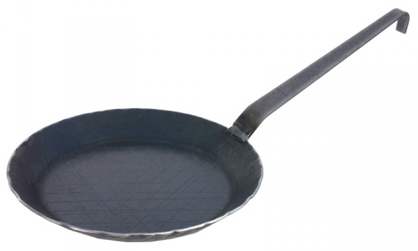 Servierpfanne 36 cm aus kaltgeschmiedetem Eisen