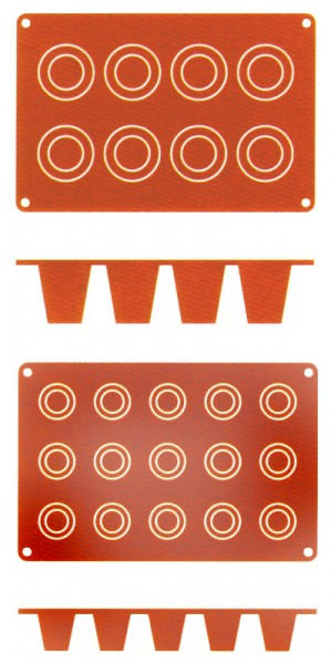 Silikon-Backmatte Dariol, 3 cm