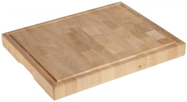 Holzschneidbrett GN 1/1 aus 5 cm Buchenstirnholz