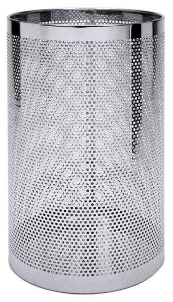 Papierkorb / Schirmständer perforiert, 55 cm Höhe