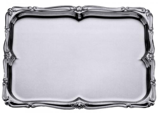 Barock-Tablett rechteckig 60 x 46 cm