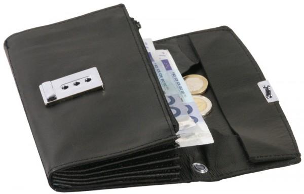 Kellnergeldtasche, aus Spaltleder