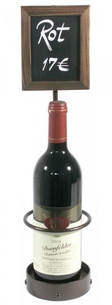 Presenter für 1 Weinflasche