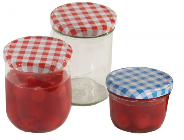 Einkochglas 230 ml mit Deckel 6-er Set