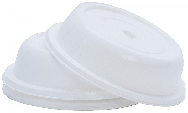 Tellerglocke 23 cm weiß