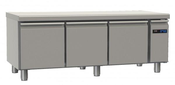Snacktiefkühltisch TKT mit 3 Türen, ZK und Arbeitsplatte
