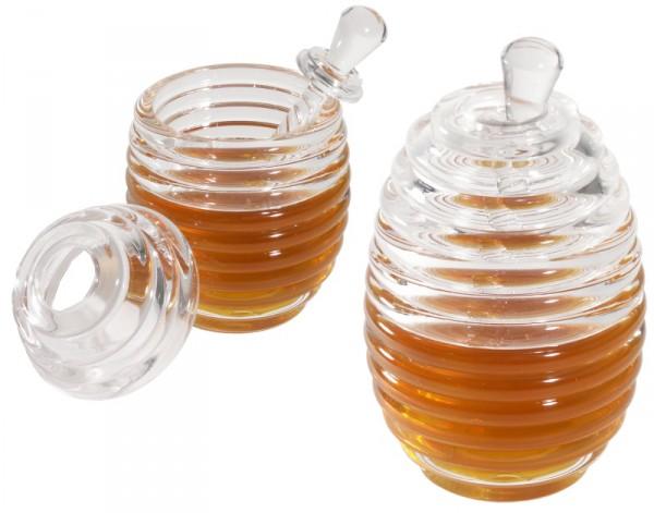 Honigtopf mit Dosierstab