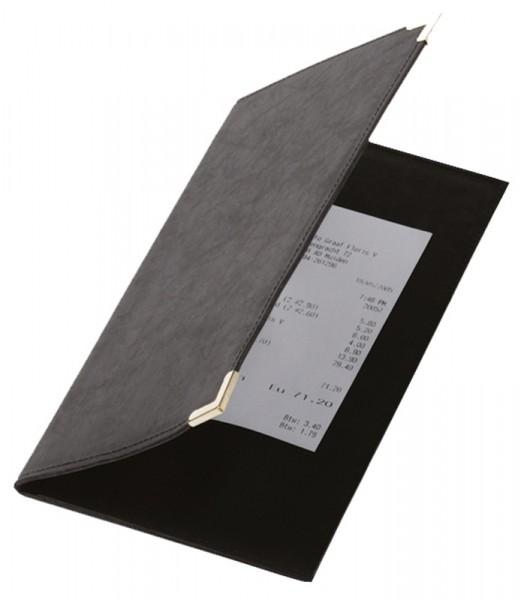 Rechnungsmappe 23 x 13 cm mit Stahlecken