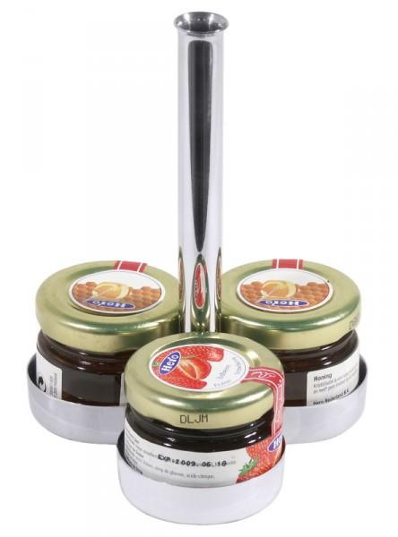 Marmeladen - Etagere für 3 Portionen