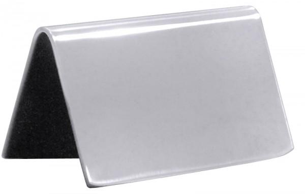 Schild, hochglänzend 65x40 mm neutral ohne Aufdruck