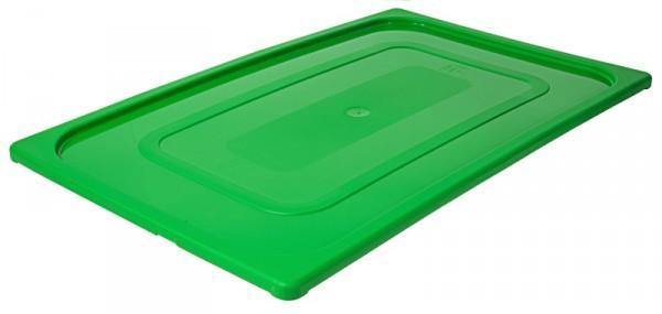 GN-Deckel 1/1, grün aus Polypropylen
