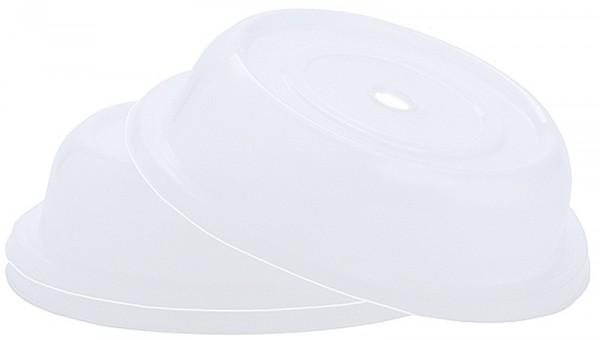 Tellerglocke 26,5 cm transparent