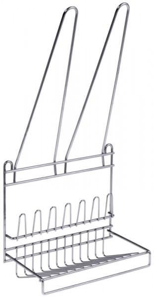 Spritzbeutel-/ Tüllenaufhänger aus Edelstahl 18/10