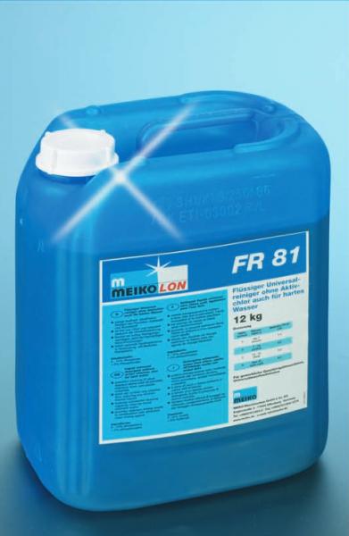 MEIKOLON Flüssigreiniger FR 81, Universalreiniger ohne Aktivchlor, für hartes Wasser