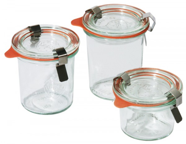 Weck-Mini-Sturzglas 80 ml 24-er Karton