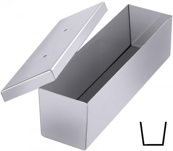Pasteten-/Brotkastenform 30x9x7 cm, mit Deckel