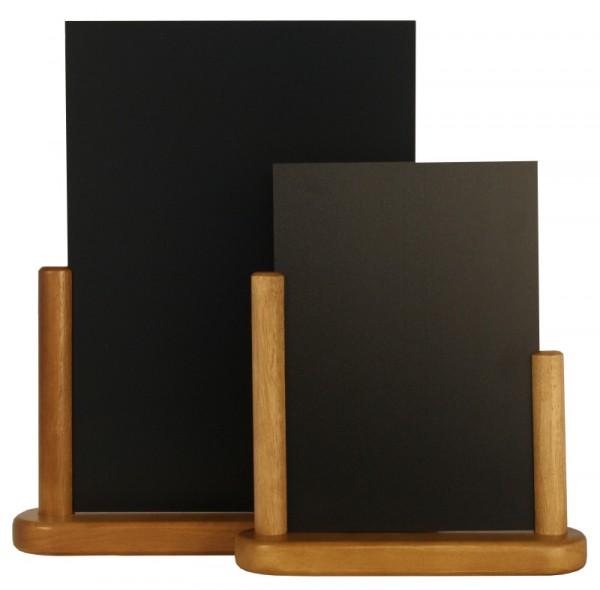 Tischtafel 15x21 cm, schwarz