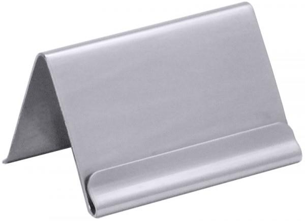 Kartenhalter für Kartenmaß max. 5,9 x 3,5 cm
