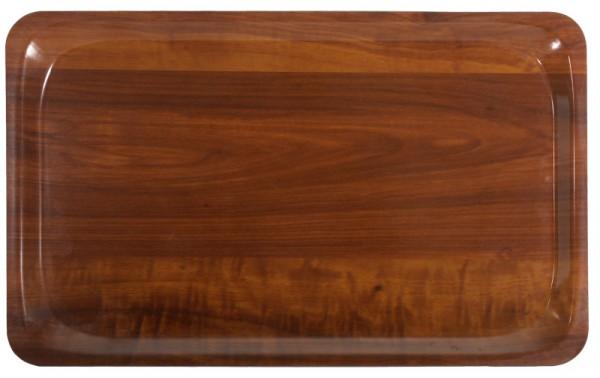 Tablett, GN 1/1,Nussbaum Dekor 53 x 32,5 cm