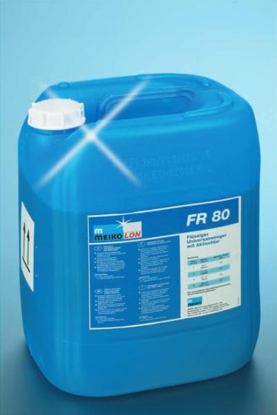 MEIKOLON Flüssigreiniger FR 80, für Geschirr, mit Aktivchlor