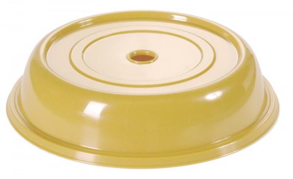 Tellerglocke 25,3 cm goldgelb