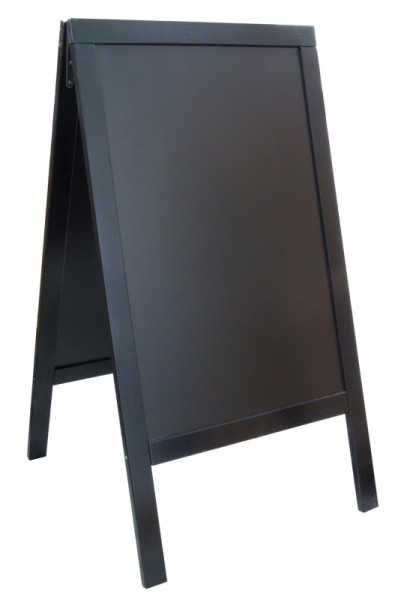Doppeltafel 120 cm, schwarz