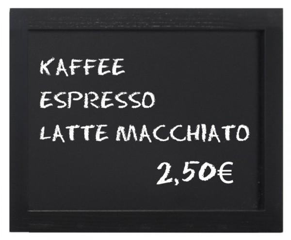Wandtafel, schwarz 40 x 30 cm