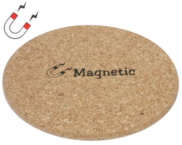 Korkuntersetzer 19,5 cm, magnetisch