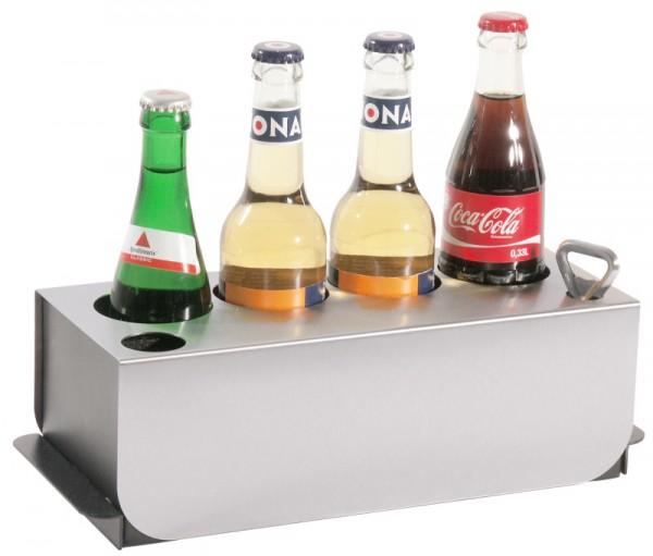 Kühler für 4 Flaschen auf Konferenztischen