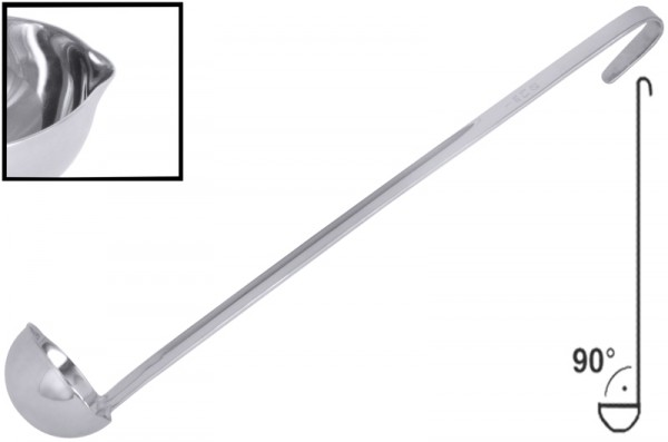 Dressinglöffel 60 cl, lang