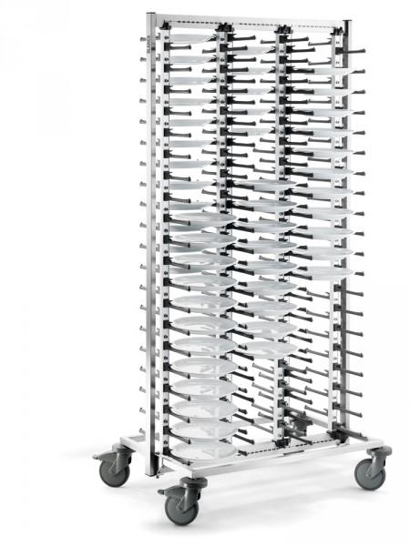 BLANCO Teller-Stapelsystem SERVISTAR GASTRO 120 mit stahlverzinkte Rollen