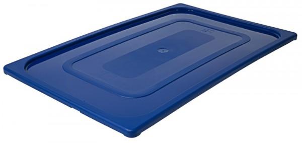 GN-Deckel 1/1, blau aus Polypropylen