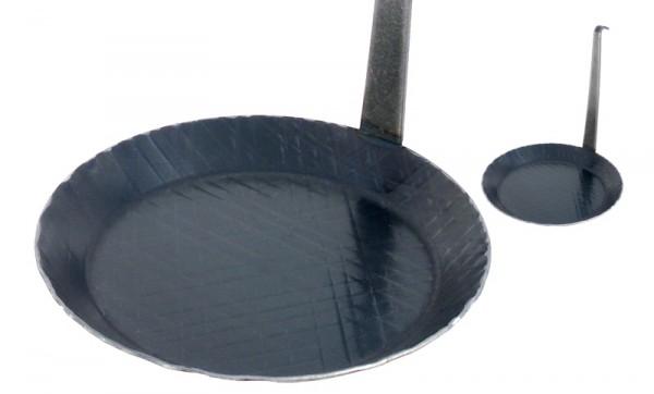 Servierpfanne 24 cm mit vertikalem Griff