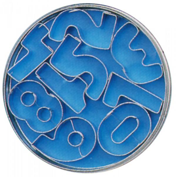 Ausstechformen 'Ziffern' Set mit Ziffern 0-8 (9 Stück)
