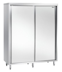 Hochschrank mit 2 Schiebetüren - 1600x600