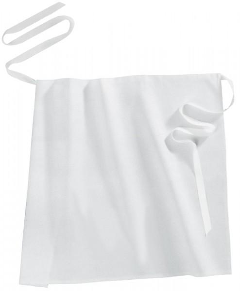 Bistro-Schürze/Vorbinder 50 x 90 cm, weiß