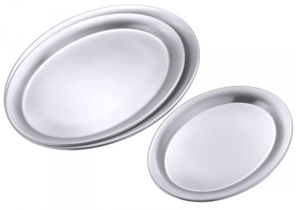 Serviertablett oval, matt, 26 x 20 cm