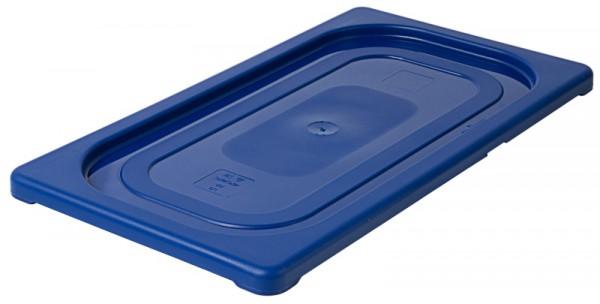 GN-Deckel 1/3, blau aus Polypropylen