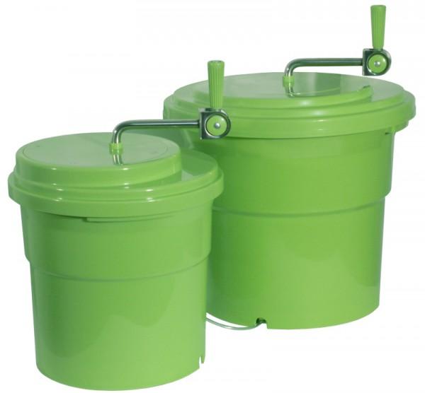 Salatschleuder 10 Liter, grün
